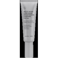 Allies Of Skin Multi Acids & Retinoid Brightening Sleeping Facial Ночной мультикислотный пилинг с ретинолом