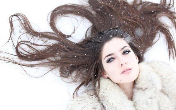 советы по уходу за волосами зимой